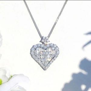 Stunning Crystal Heart Necklace